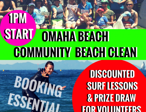 Omaha Community Beach Clean & Surf 2016