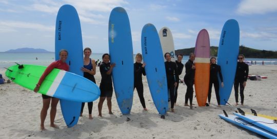 Surfing For Schools & Groups Omaha Orewa Te Arai