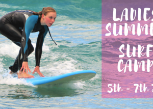SUMMER LADIES SURF CAMP