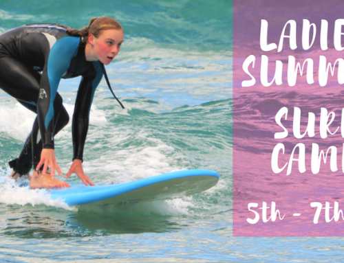 Ladies Summer Holidays 3 Day Surf Camp